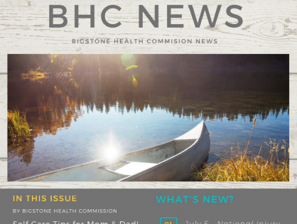 BHC July 2020 Newsletter